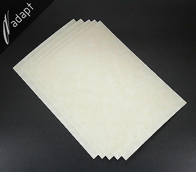 "Nomex 410 Insulation Paper 10 mil 0.010"", 5 each 8""x12"" Sheets Aramid Electrical"