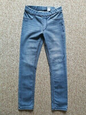 VGC Girls H&M blue jeans size 7-8 Years