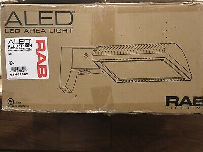 RAB ALED4T78 Area Light Cool Light LED Mounting Arm Type IV Bronze