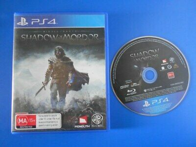 Shadow of Mordor - Sony PS4 PlayStation 4 Games PAL