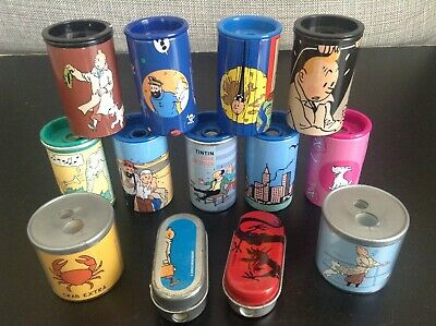 Lot de taille crayons Tintin TBE