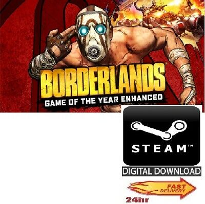 Borderlands Game of the Year Enhanced PC Steam GLOBAL 100% SECURE*FAST DELIVERY*