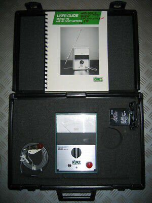 AIR VELOCITY METER MODEL 441S von KURZ INSTRUMENTS INC.