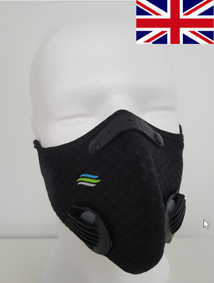 Face Mask Anti Pollution Carbon Filter Cycling Running