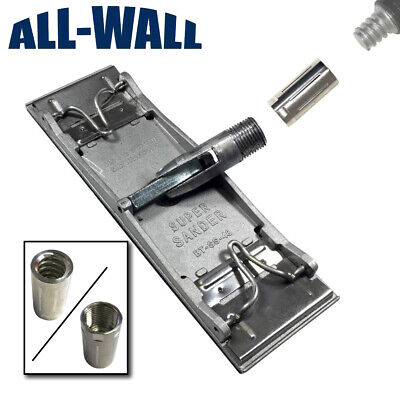 BTE Drywall Super Sander Head w/ Coarse Thread Adapter, Fits Any Painter's Pole
