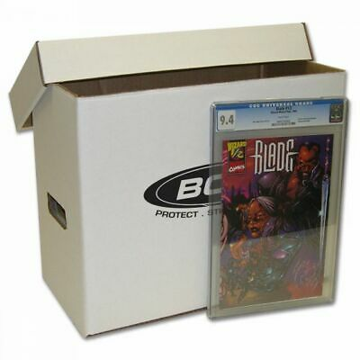 BCW Graded Comic Storage Box - Holds 35-40 Graded Comic Books