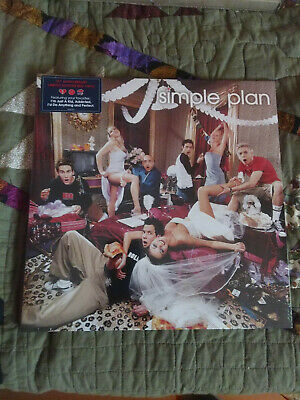 SIMPLE PLAN No Pads, No Helmets...Just Balls LP on RED VINYL New SEALED