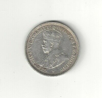 British West Africa 1913 six Pence Silver