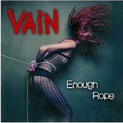 Vain - Enough Rope Cd Record New *Official* Rock Heavy Metal No Respect Glam NEW
