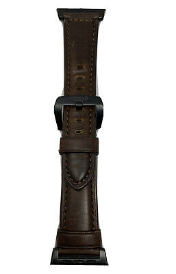 Nomad Classic Leather Watch Band Strap for Apple Watch 42mm 44mm Brown #nmw12