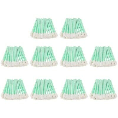 500 Pcs Solvent Cleaning Swabs Stick for Roland Mimaki Inkjet Mutoh Printer A1Q3