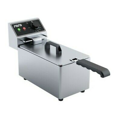 Saro Fryer Model Ef Tabletop Model with Drain Tap Catering Electric