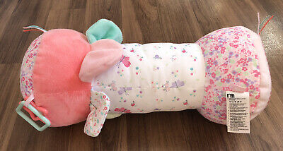 Mothercare Baby Tummy Time Roller Pillow Pink