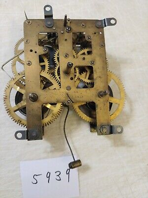 Antique Waterbury  Mantle Clock Movement