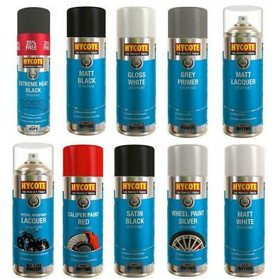 Hycote Spray Paint Aerosol Auto Car Lacquer Primer Wood Metal Fast- Drying