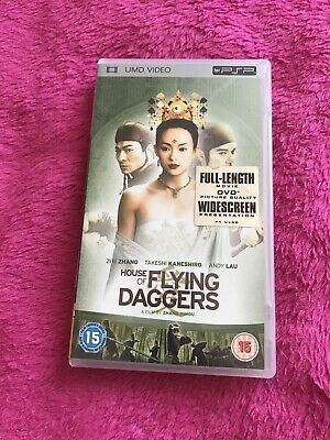 House Of The Flying Daggers - Sony PSP - UMD movie