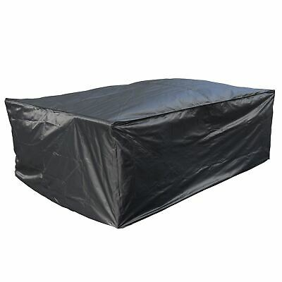 Kct Rectangle Garden Furniture Cover  Large Protect Patio Table Chair Debris