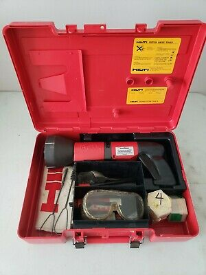 HILTI DX-600N Powder-Actuated Nail & Stud Gun Kit