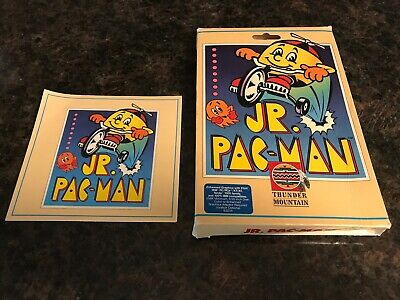 Jr Pac-Man Box And Instructions Only Thunder Mountain, PC IBM