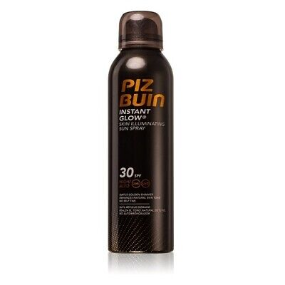 Piz Buin Instant Glow Spray Abbronzante Effetto Luminoso Spf 30 - 150 Ml