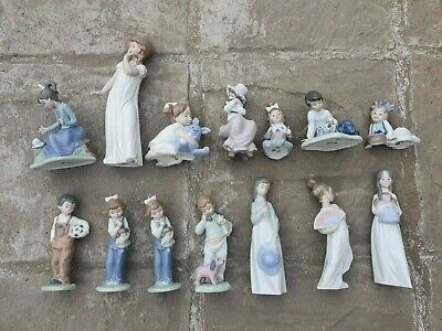 Lladro - Nao - Porcelain - Various - Collectable - Figurine - Pottery You Choose