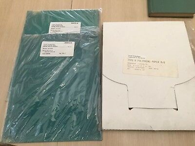 Lucent Technologies 3M Type A polishing Paper (25)And Type G(50) New Old Stock