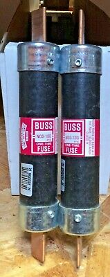 Bussmann 100Amp One Time Fuse Nos-100 Used