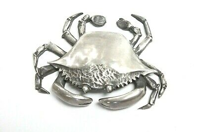 S Kirk & Son Sterling Silver Cancer Crab Paperweight Cast Miniature Figure
