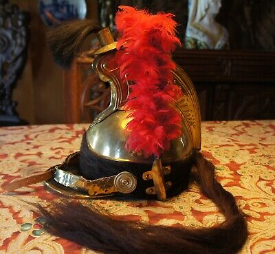 French Military Campaign Second Empire Dragoons helmet Museum Reproduction