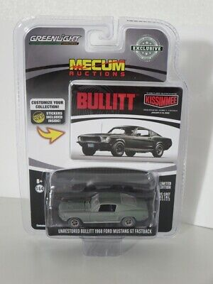 Greenlight 1:64 Unrestored Bullit Ford Mustang GT Fastback 1968 30136 Brand new