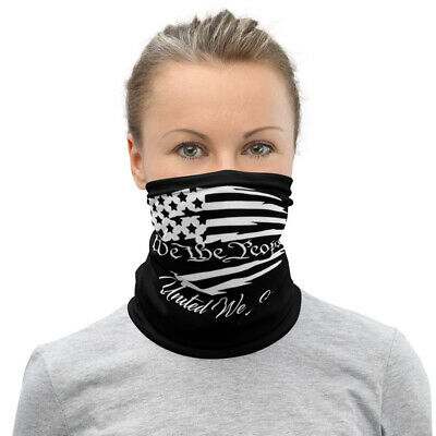 """We the people"" Neck Gaiter face mask"