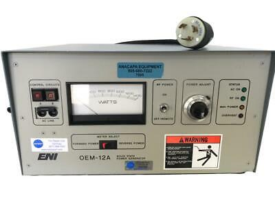 ENI OEM-12A-21041-51 Solid State RF Power Generator (7595) W