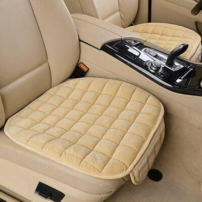 Universal Car Seat Cover Protector Soft Cashmere Cushion Front Row for Winter