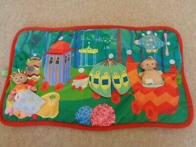 In The Night Garden Play Mat with Soft Toys Figures