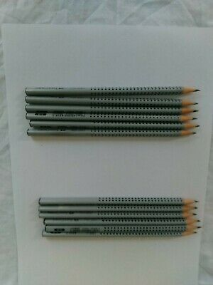 Faber Castell 2001 Grip Pencils B (12)