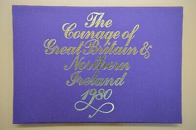 1980 Royal Mint Proof 6 Coin Set - Coinage Of Great Britain And Northern Ireland