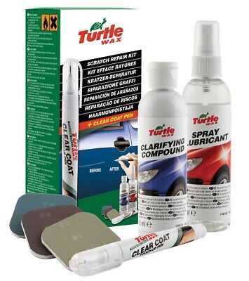 Turtle Wax Scratch Repair Kit Fades Minor Scratches Blemishes Scratch Remover