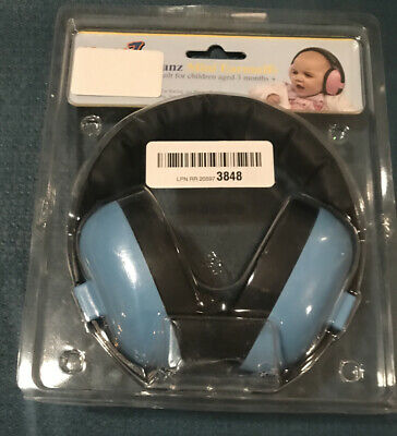 Baby Banz Hearing Protection- Mini Earmuffs For 3 Months+-New-Open Package