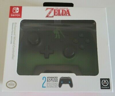 PowerA  Enhanced Wired Controller Nintendo Legend of Zelda - Link Fade