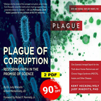 ✅ Plague of corruption By Kent Heckenlively, Judy Mikovits ✅ Digital Version 🔥