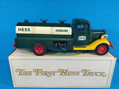 1982 The First Hess Truck/ Orig. Box. NIB W/ Both Inserts  *RED SWITCH*