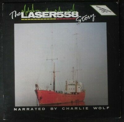 The Laser 558 Story Narrated by Charlie Wolf Double CD