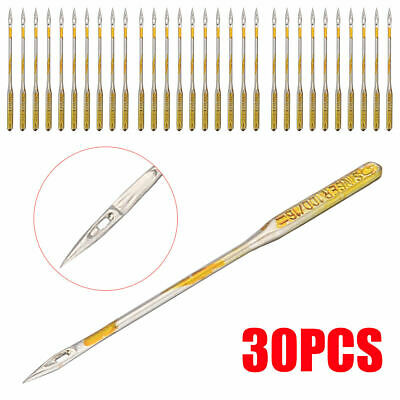 30x Domestic Sewing Machine Needles 3 sizes 14 16 &18 Needle For Singer Brother
