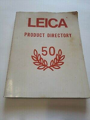 Leica Product Directory 50 Vintage