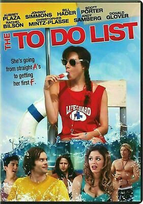 The To Do List [DVD] New and Factory Sealed!!