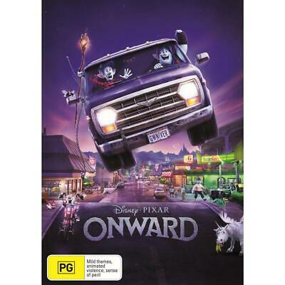 Onward (DVD,2020) Release Date 05.06.2020  New - Reg 4 - PRESALE