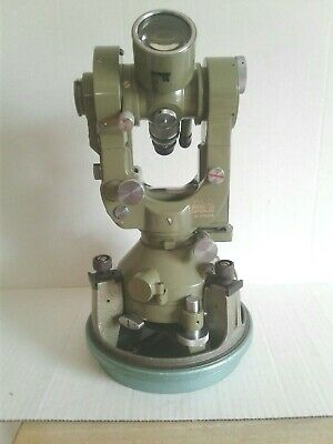 Wild Heerbrugg T2 Theodolite with Bullet Case & Original Carrying Case #179308