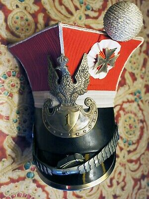 French Military Campaign  helmet Museum Reproduction