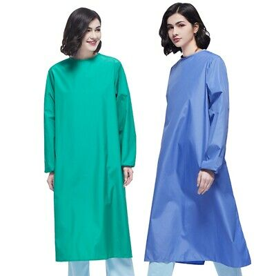 Reusable Surgical Gown Medical Scrubs Coat Doctor Nurse Operating Workwear M-2XL