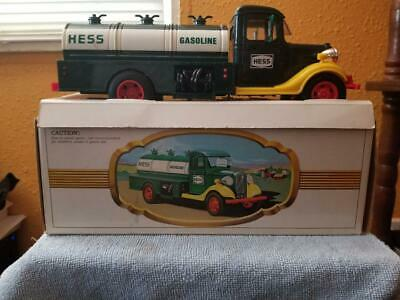 1982/83 The First Hess Truck/Working lights,insert and original box